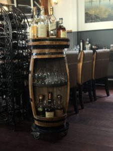 Whiskey barrel De Bourgondier